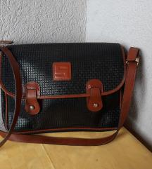 STEFAN  MADE IN ITALU original kozna torba NOVA