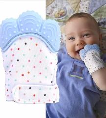 Rukavica glodalica za bebe od 3 mes do godinu dana