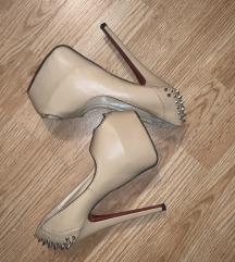 Cipele na stiklu sa platformom
