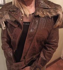 Kozna jakna, krzno zec
