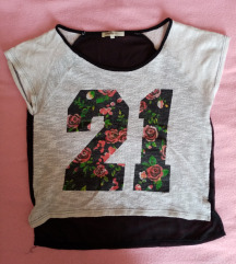 Cvetna majica kratkih rukava