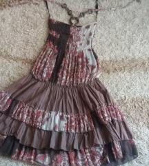 Prelepa letnja leprsava haljina M