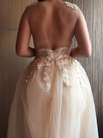 Dizajnerska unikatna maturska/vencana haljina