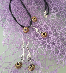 Set mindjuse i ogrlica