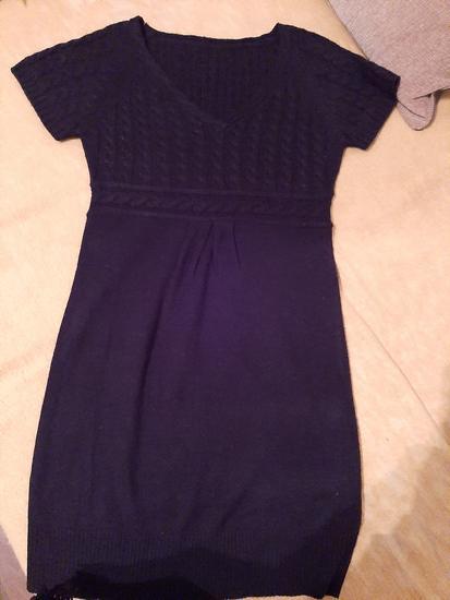 Trikotazna  dzemper haljinica s  akcijaa