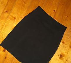 H&M poslovna crna suknja 44vel.