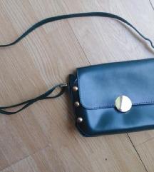 Tamno zelena torbica na rame