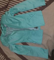 Mint zelena jaknica sako