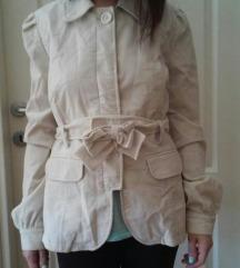 Plisana jaknica-mantilic, bez, 40-44