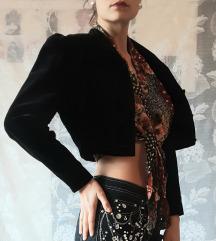 Crna kratka jaknica/bolero