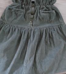 Sivo-zelena suknja