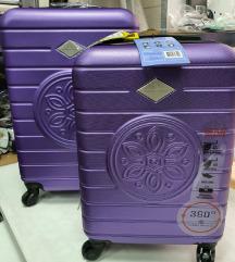 Kofer Ljubicasti srednji i kabinski