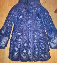 Zimska Plava perjana jakna