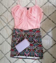 Suknja i majica H&M