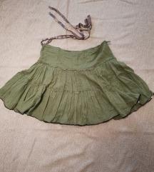 BERSHKA suknja sa karnerima