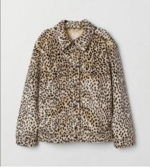 H&M jakna sa krznom NOVO