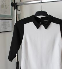 Crno-bela vintage haljina Atmosphere