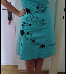 SNIŽENJE! Tirkizna haljina