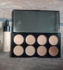 Makeup revolution paleta korektora