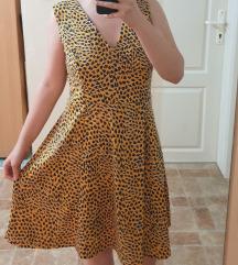 H&M zuta haljina kao NOVA  / L velicina