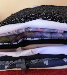 Paket zenskih majica kratki rukav (11 komada)