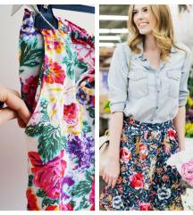❤ Suknjica floral print  ❤ Rasprodaja ❤