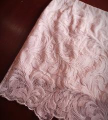 Nova bela čipkana suknja