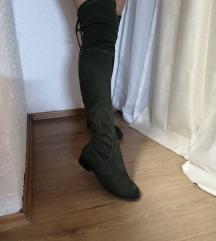 Duboke zelene cizme