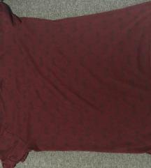 bordo majica sa šarama