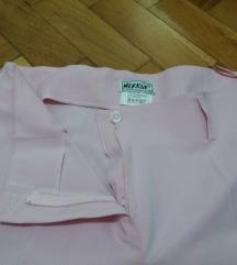 Elegantne roze pantalone