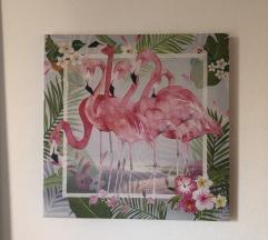 Slika sa flamingosima