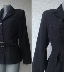 crna jakna kao sako br 38 ili 40 ON LINE