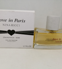 NINA RICCI Love in Paris, tester