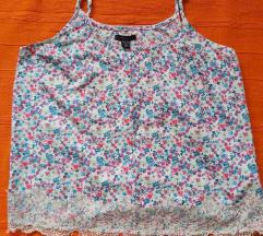 Amisu satenska bluza sa cveticima