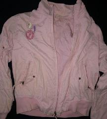 Bebi roze jaknica za devojčice