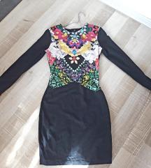 H&M pamucna svecana haljina