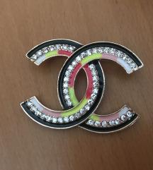 Sareni Chanel bros sa kristalima