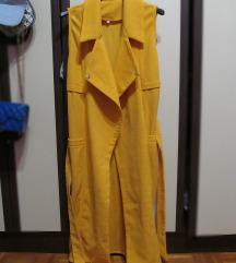 Dugačak žuti prsluk