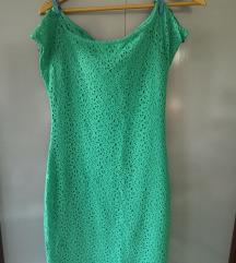 Nova zelena haljina bez rukava, sa etiketom
