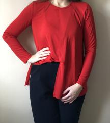 Zara crvena bluza