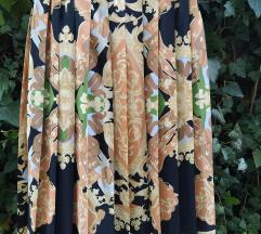 Vintage plisirana suknja