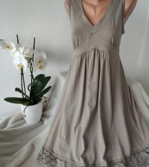 Bez haljina sa heklanim detaljima vel L/XL
