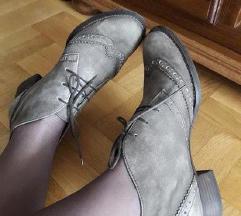 PAUL GREEN smedje kozne duboke cipele NOVO