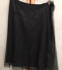 Crna svečana suknja