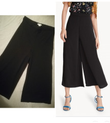 Duboke pantalone sa sirokim nogavicama H&M