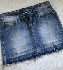 Tally Weijl teksas mini suknja
