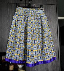 Nova afro suknja sa dzepovima