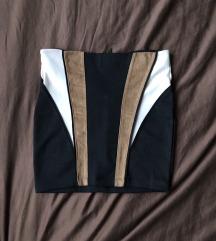Nošena mini suknja