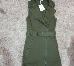 NOVO H&M Safari haljina(Limited edition)