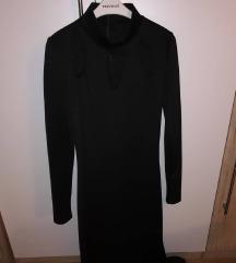 Duga svečana haljina crna